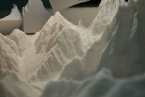 plastico di montagne